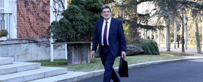 Ministro de Inclusión, Seguridad Social y Migraciones José Luis Escrivá Belmonte