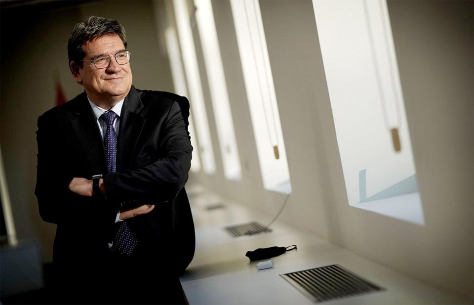 El ministro de Inclusión, Seguridad Social y Migración, José Luis Escrivá