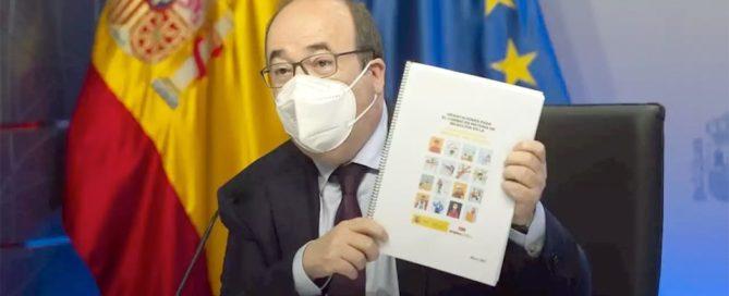 El Ministro de Política Territorial y Función Pública, Miquel Iceta. El Ministro de Política Territorial y Función Pública, Miquel Iceta