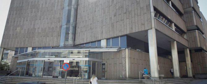 edificio juzgado a coruña