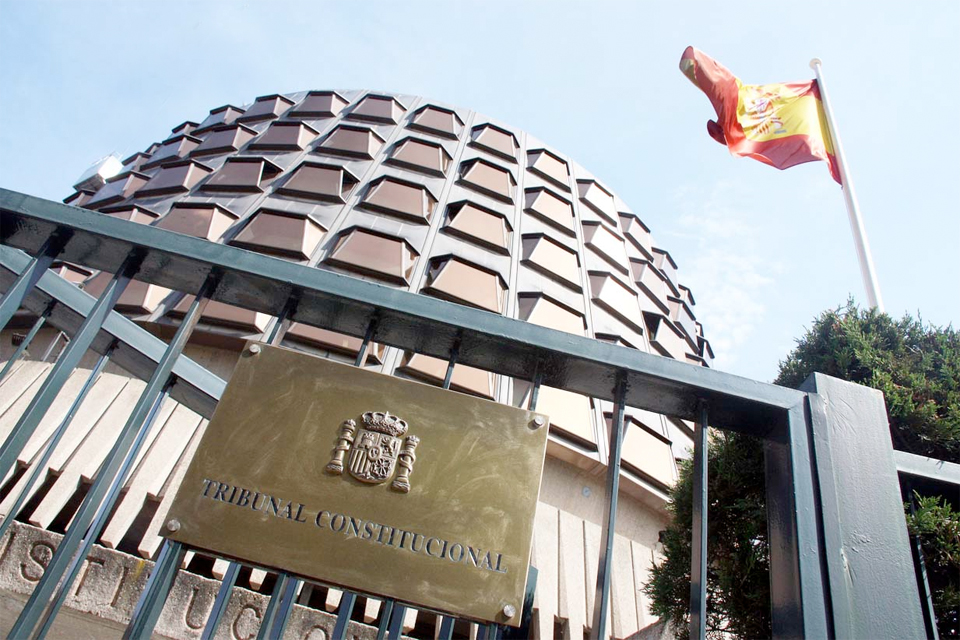 Fachada del Tribunal Constitucional